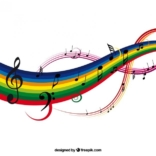 Colorful Music Background 23 2147504434