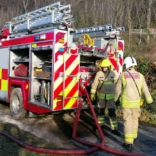 Fire On Tuesday Near Abergele Hospital Off The A548