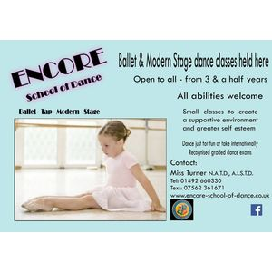 Encore School Of Dance